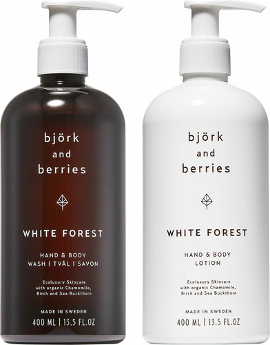 White Forest Holiday Hand & Body Duo