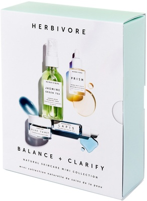 Herbivore Balance and Clarify Natural Skincare Mini Collection