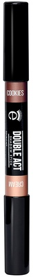 Eyeko Double Act Shadow Stick Cookies & Cream