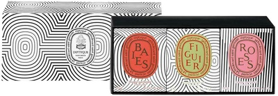 Diptyque Mini Set Baies,Figuier, Roses Limited Edition