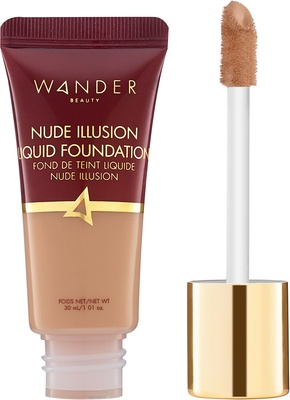 Wander Beauty Nude Illusion Liquid Foundation Golden Rich