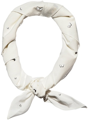 Lele Sadoughi Lucky Charm Scarf Face Covering