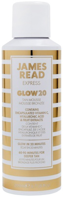 James Read Glow 20 Body Mousse