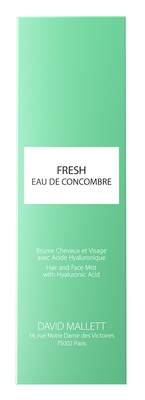 David Mallett Spray Fresh Eau De Concombre