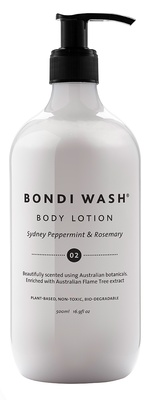 Bondi Wash Body Lotion Sydney Peppermint & Rosemary