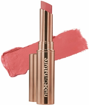 Nude By Nature Creamy Matte Lipstick 02 Sunset