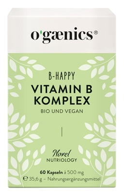 Ogaenics B-HAPPY Vitamin B-Komplex