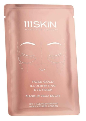 111 Skin Rose Gold Illuminating Eye Mask Single Single