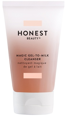 Honest Beauty Gel to Milk Cleanser