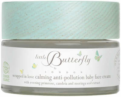 Little Butterfly London Wrapped in Love Calming Anti-Pollution Baby Face Cream