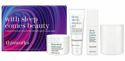 This Works With Sleep Comes Beauty Xmas 2019