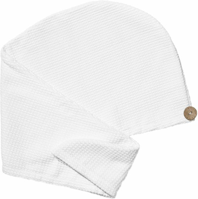 T3 Luxe Turban Towel with Waffle Microfiber