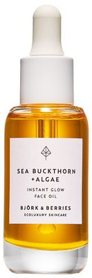 Björk & Berries Sea Buckthorn + Algae Face Oil