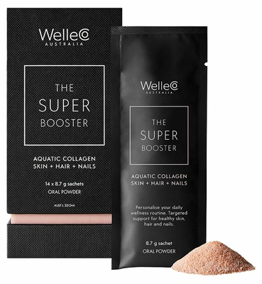 WelleCo Super Booster Aquatic Collagen Skin + Hair + Nails
