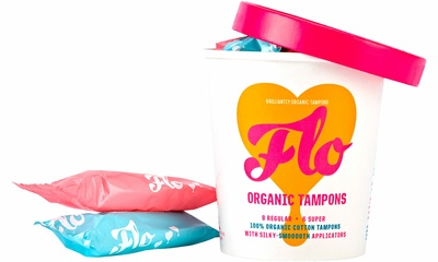 Flo Bio-Applicator Organic Tampons