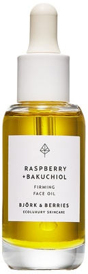 Björk & Berries Raspberry + Bakuchiol Face Oil