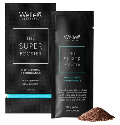 WelleCo Super Booster Men's Libido + Endurance