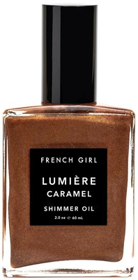 French Girl Shimmer Oil Lumiere Caramel