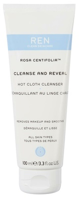 Ren Clean Skincare Rosa Centifolia ™  Cleanse And Reveal Hot Cloth Cleanser