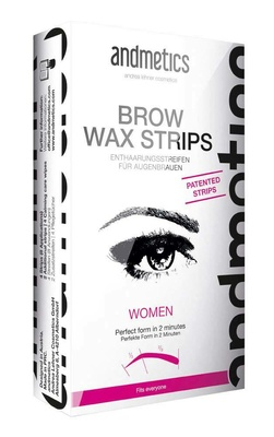 Andmetics Eye Brow Strips Women