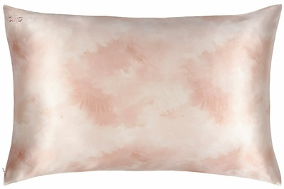 Slip Slip Pure Silk Pillowcase Queen - Desert Rose