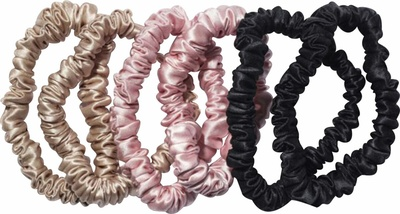 Slip Silk Scrunchies Black