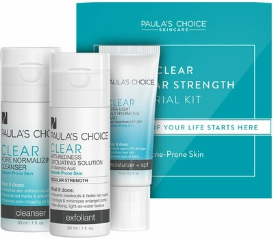 Paula's Choice Trial Kit Clear Regular Strength For Acne-Prone Skin