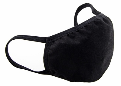 Iphoria Textile Face Mask - Black