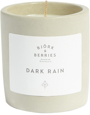Björk & Berries Dark Rain Scented Candle