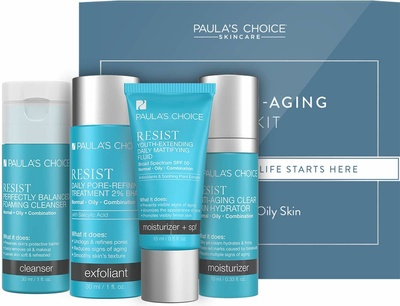 Paula's Choice Trial Kit Resist Anti-Aging - Combination to Oily Skin