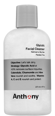 Anthony Glycolic Facial Cleanser 419-001