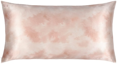 Slip Slip Pure Silk Pillowcase King - Desert Rose