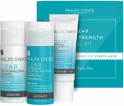 Paula's Choice Trial Kit Clear Extra Strength For Acne-Prone Skin