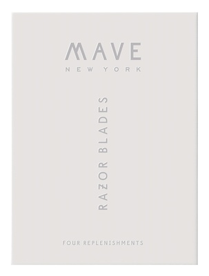 Mave New York Razor Replenishment Pack