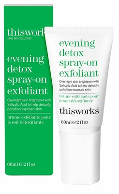 This Works Evening Detox Spray On Exfoliant