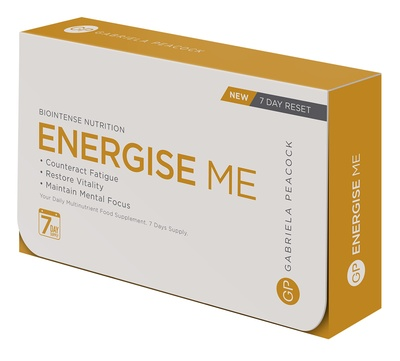 GP Nutrition Energise Me 7 day travel pack