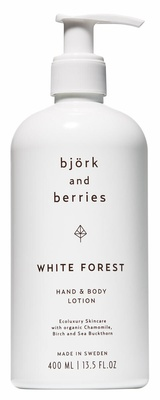 Björk & Berries White Forest Hand & Body Lotion