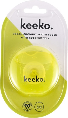 Keeko Vegan Coconut Tooth Floss