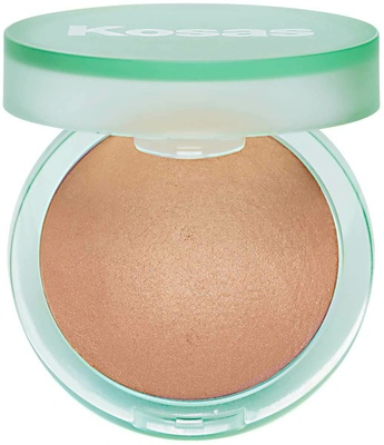 Kosas The Sun Show Moisturizing Baked Bronzer Light Soft Bronze