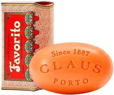 Claus Porto Favorito Red Poppy Soap