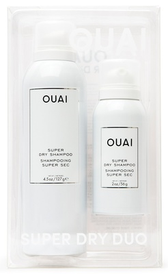 Ouai Super Dry Shampoo Duo Kit