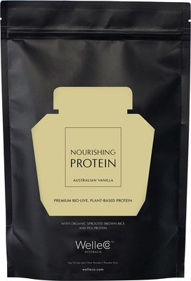 WelleCo Nourishing Plant Protein - Natural Vanilla Refill