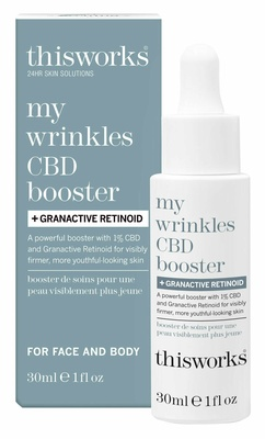 This Works This Works My Wrinkles CBD Booster + Granactive Retinoid