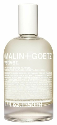 Malin + Goetz Vetiver Eau De Parfum 50 ml