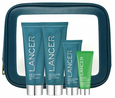 Lancer The Method Intro Kit Oily-Congested Skin
