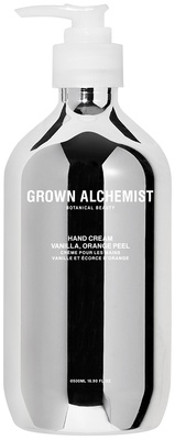 Grown Alchemist Silver Hand Cream Vanilla, Orange Peel 500 ml