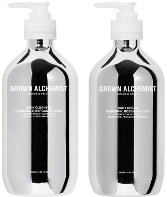 Grown Alchemist Silver Kit Body Cleanser + Body Cream