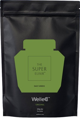 WelleCo Super Elixir Greens - Pineapple and Lime