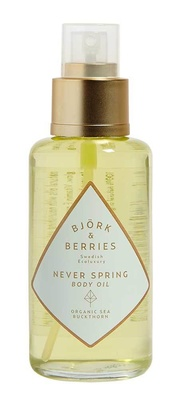Björk & Berries Never Spring Body Oil - Shimmering Shimmering