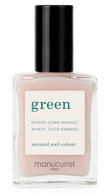 Manucurist Green Nail Lacquer Pale Rose